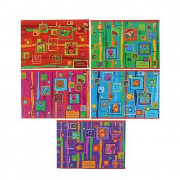 Альбом д/рис а4 12л на скобе яркие краски 12а4с