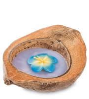 36-009 свеча в кокосе (о.бали)