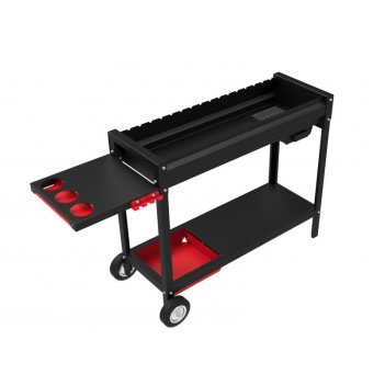 Мангал grillver файркрафт «стандарт 1000 про»