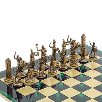 Шахматы подарочные  троянская война