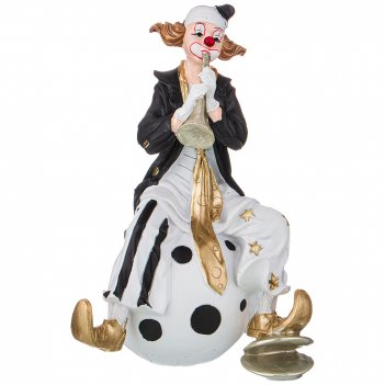 Фигурка клоун 12,5*10*20 см. коллекция буффонада (кор=12шт.)