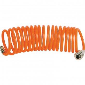 Шланг пневматичекий спиральный кратон, pu, 10 м, 0.4 кг