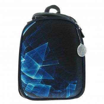Рюкзак каркасный luris колибри 1 38x28x18 см колибри 1 для мальчика, «куби