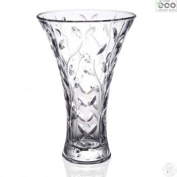 Ваза cristalleria italiana laurus 30см