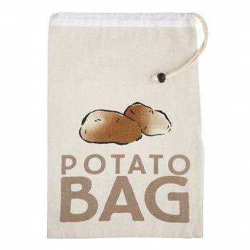 Kitchen craft мешок для хранения картофеля food fresh storage