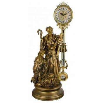 Скульптурные часы из полимерных смол восток 8381-1