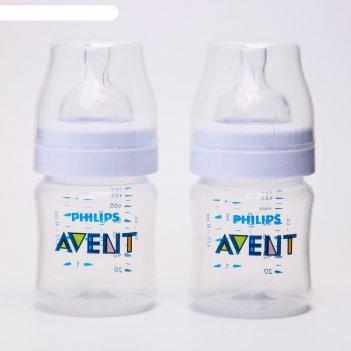 Бутылочка для кормления classic+, 125 мл, от 0 мес., набор 2 шт.