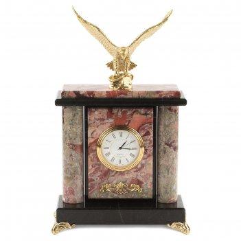 Часы орел креноид бронза 165х70х260 мм 1900 гр.