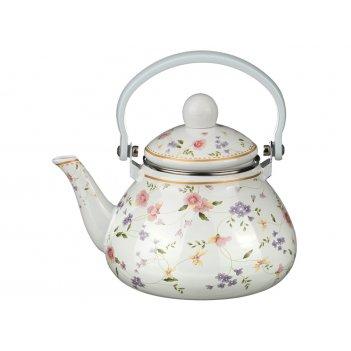 Чайник эмалированный с фильтром из нжс 1,3 л