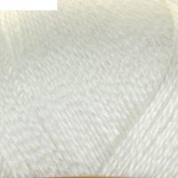 Пряжа шелковый блеск (0230, отбелка), 400 м