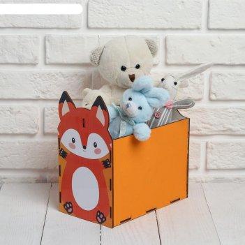 Ящик «лисичка», 12,5 х 22,1 х 20 см