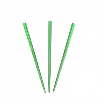 Пика для канапе палочка набор 50 штук, цвет зеленый