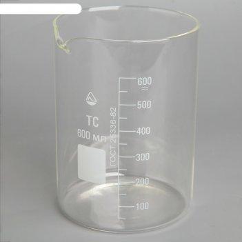 Стакан мерный н-1-600 мл  тс (со шкалой) (рф)