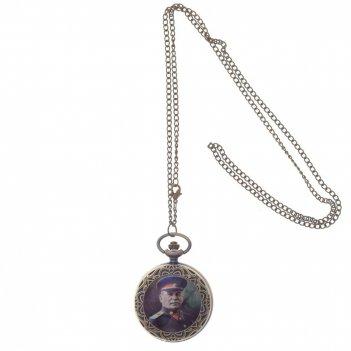 Часы карманные декоративные на цепочке, l4,5 w1 h6 см