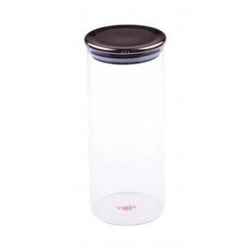 Стеклянный контейнер для хранения bambum dikelta 20 см