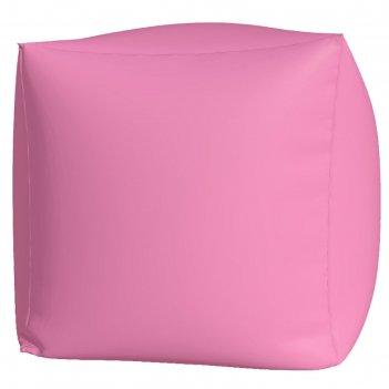 Пуфик куб макси, ткань нейлон, цвет розовый