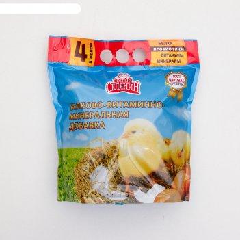 Бвм добавка добрый селянин с пробиотиком, для молодняка с/х птицы, 1.7 кг