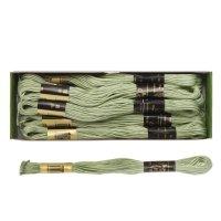Мулине 10м, (№4602), цвет зелёный