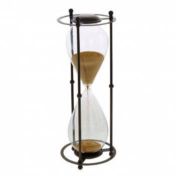 Часы песочные (4 мин 30 сек), l18 w18 h48 см