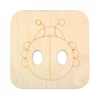 Декоративная плитка божья коровка
