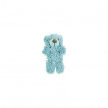 Игрушка aromadog мишка малый для собак, 6 см, голубой