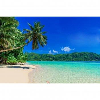 Фотобаннер, 300 x 200 см, с фотопечатью, «пляж»