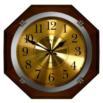 Большие настенные часы sinix 1075 ga