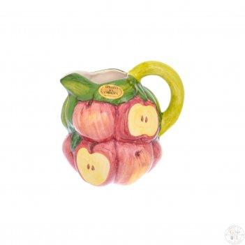 Кувшин orgia яблоки 1,5 л, высота 20 см