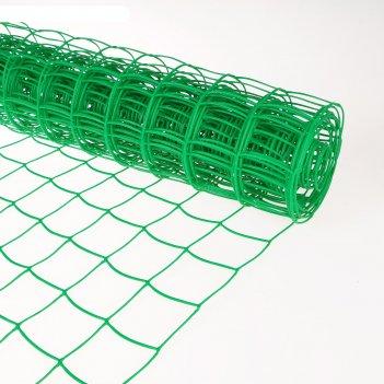 Сетка садовая, 1.05 x 10 м, ячейка 9 x 10 см, «решётка»