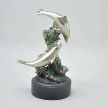Ul-42013 скульптура два дельфина