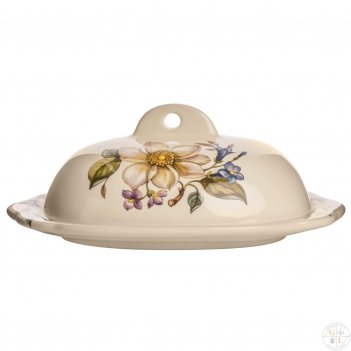 Масленка с крышкой artigianato ceramico