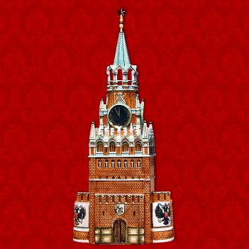 Шф-004с башня кремля (цветная с золотом) 2,5 л