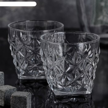 Набор бокалов для виски 2 шт рокс 250 мл