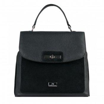 Рюкзак-сумка женская, черный, 250x240x120