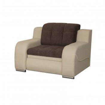 Кресло «жемчуг 2», механизм подъёма, цвет коричневый/бежевый