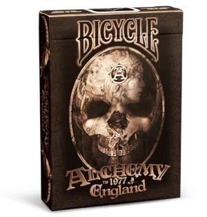 Карты bicycle alchemy ii england