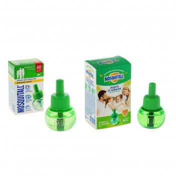 Жидкость mosquitall защита для взрослых 60 ночей, 60 мл