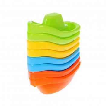Игрушка для ванны «радость», лодочки, набор 8 шт.