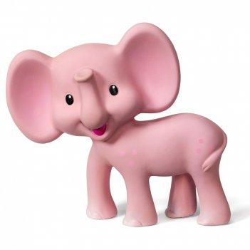 """Игрушка-прорезыватель """"розовый слоненок"""""""