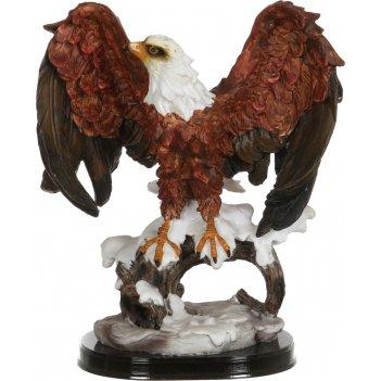 Фигурка орел 21*14 см. высота=26 см.(кор=6шт.)