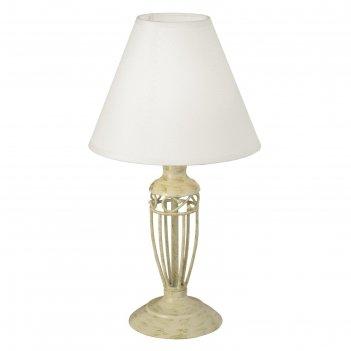 Настольная лампа antica, 1x60w (e14)