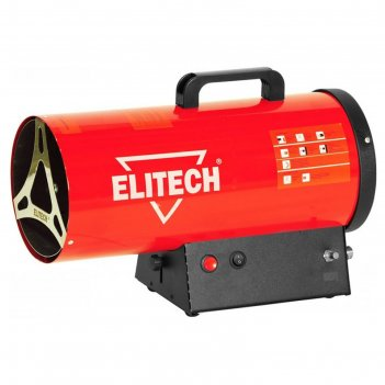 Тепловая пушка elitech тп 10гб, газовая, 10 квт, 330 м3/ч, расход 0.76 кг/