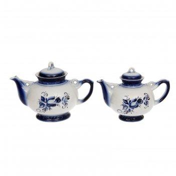 Чайная пара карачун гжель