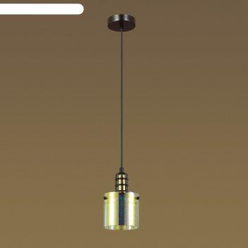 Светильник bristol 1x40вт e14 латунь 12x12x150см