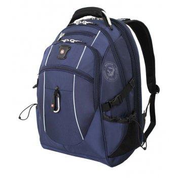 Рюкзак wenger, синий/серебристый, полиэстер 900d/м2 добби, 34x23x48 см, 38