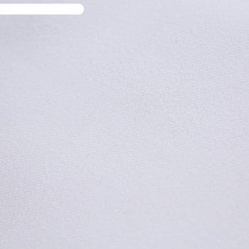 Ткань костюмная, стрейч, ширина 150 см, молочный