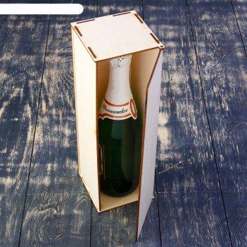 Заготовка для декупажа винный короб 33 х 12 х 12 см