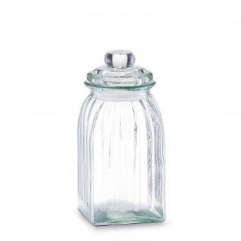 Банка для продуктов zeller, 1 л, стекло