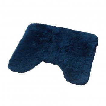 Коврик для ванной комнаты istanbul, цвет синий/голубой 50х50 см