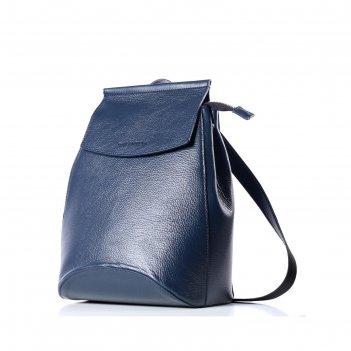Рюкзак женский, натур.кожа, мод.11518 9с88к45, цвет синий
